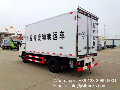 medical waste collection truck