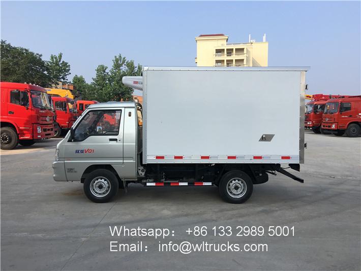 Foton yuling mini refrigerated truck
