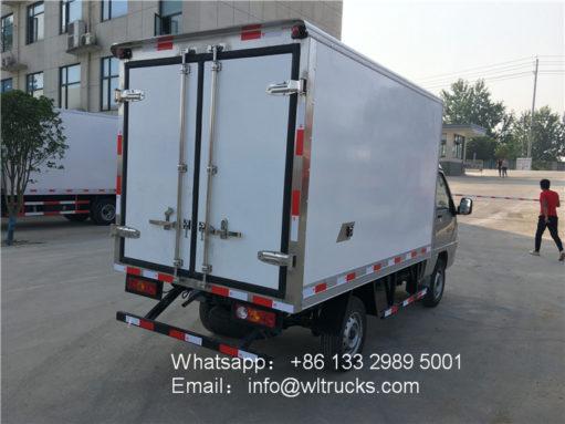 mini refrigerated trucks