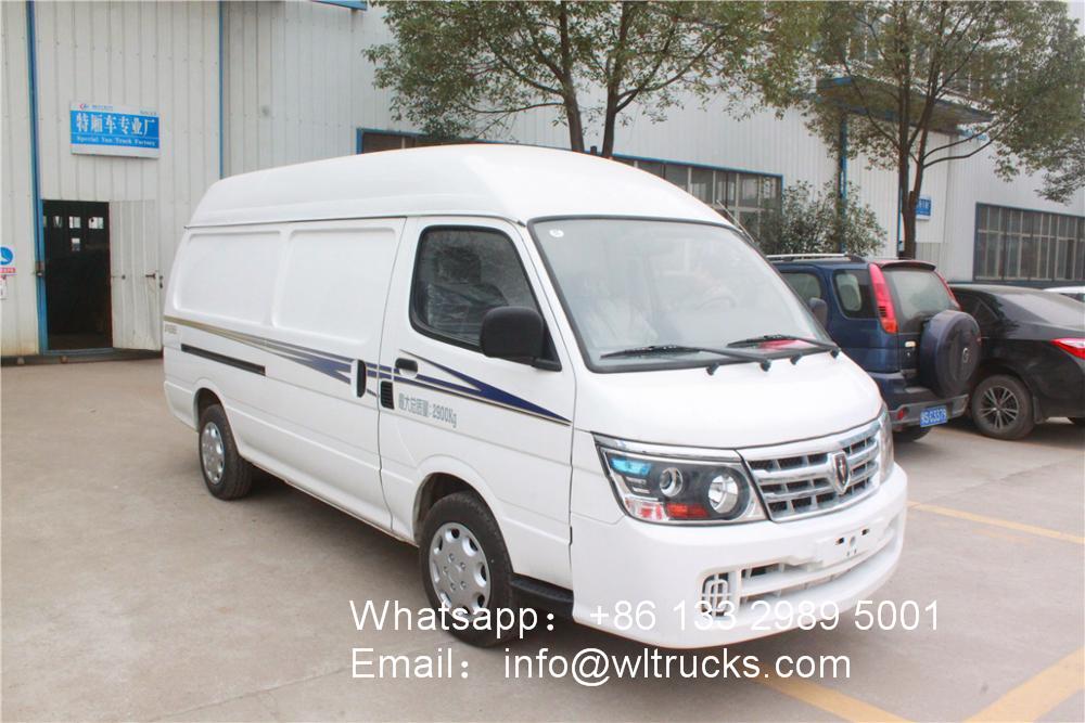 Brilliance Jinbei small 5m3 mobile freezer truck