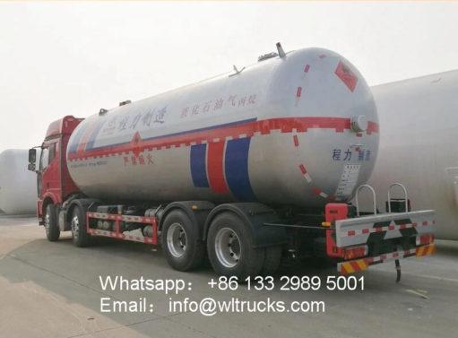 mobile lpg filling truck