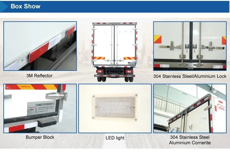 refrigerated truck Bodywork details