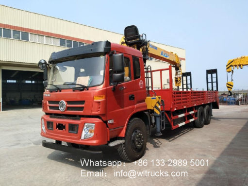 service truck with crane