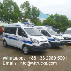 Transit V362 short axis transfer siren ambulance