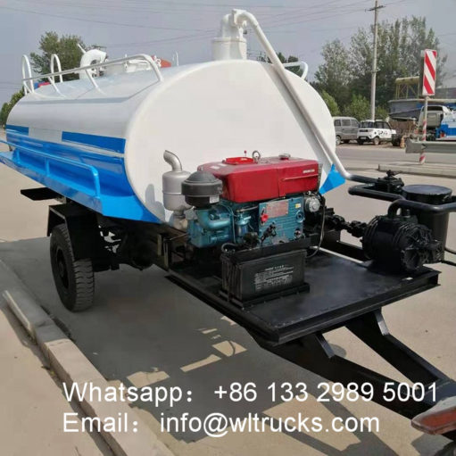 small water tank trailer