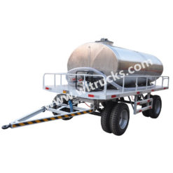 stainless steel 10000 L to 35000L small water tank trailer