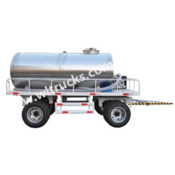 stainless steel water tank trailer