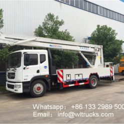 street light repair aerial trucks