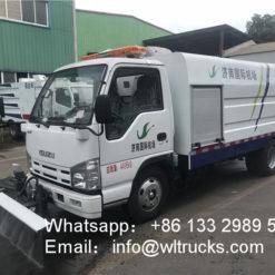 street washing truck