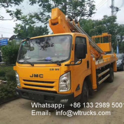 JMC 22 meter telescopic boom aerial working truck