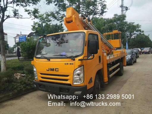JMC 22 meter telescopic boom aerial working truck