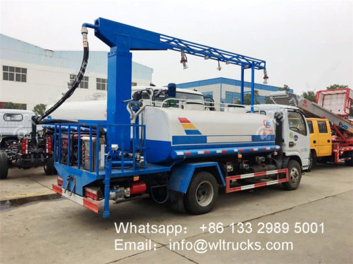 vehicle disinfection system fogger spray truck