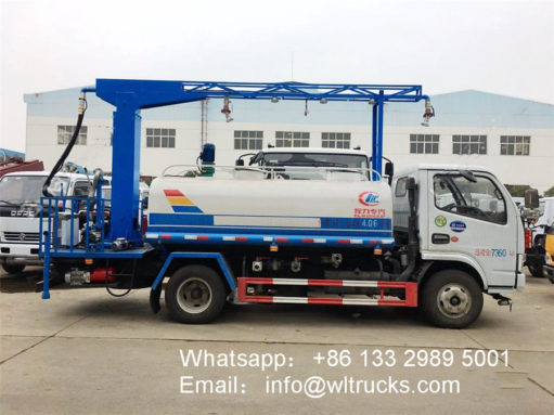 vehicle disinfection tunnel fogger spray truck