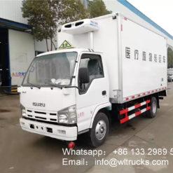 waste transit truck