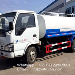 ISUZU 600P 8000 liter water delivery trucks