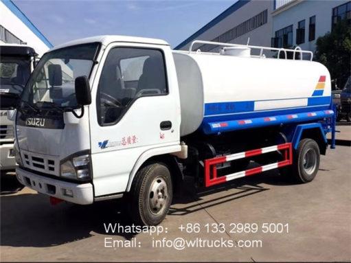 ISUZU 600P 8000 liter water delivery trucks