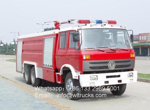 10 wheel Dongfeng 12 ton water tank fire fighting truck