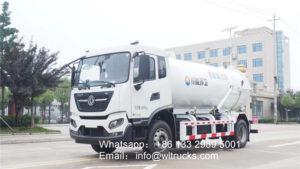 10 ton to 12 ton vacuum sewage suction truck