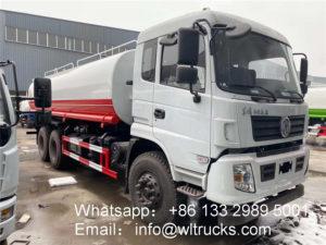 10 wheel 5000 gallon water tank truck