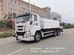 10 wheel ISUZU 16000liters disinfection truck