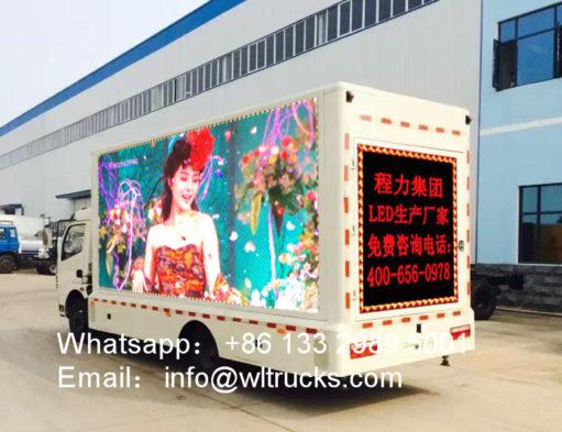 10m2 led light truck