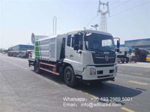 12 ton 100m Fog gun disinfection truck