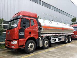 12 wheel FAW 34000l Aluminum alloy oil tank truck