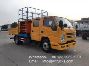 12m lifting platform truck