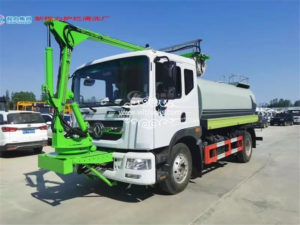 12m3 Tunnel cleaning truck