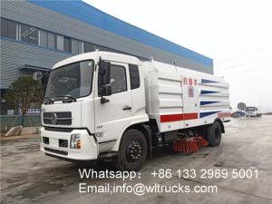 12m3 road sweeper machine