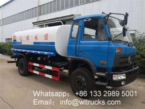 15000L water tank truck