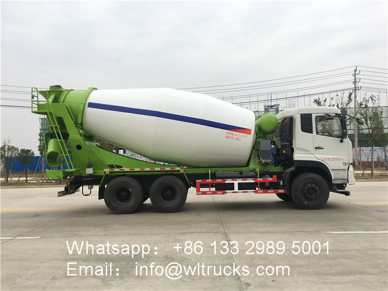 6x4 Dongfeng 15cbm Concrete Mixer truck