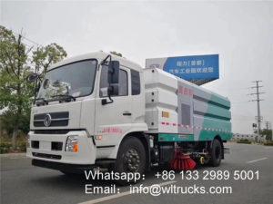 16 ton road washing sweeper