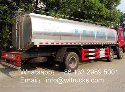 20 ton Milk Tanker Truck