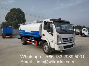 2000 gallon water tank truck