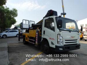 28m aerial platform truck