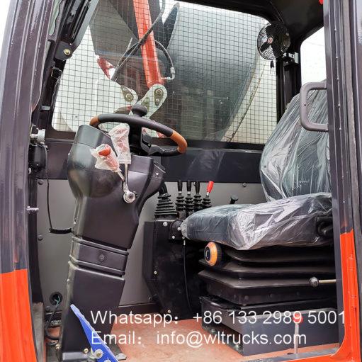 2m3 concrete mixer truck
