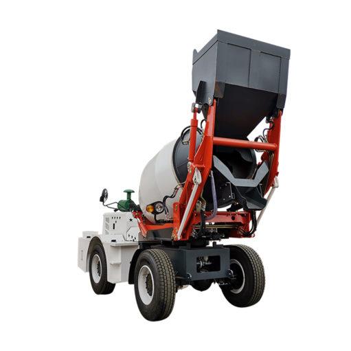 2m3 self loading concrete mixer trucks