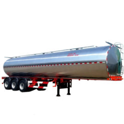 3 axis 45000 liter Stainless Steel Milk Tank Trailer