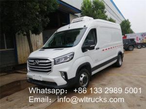 3 ton minibus refrigerated truck