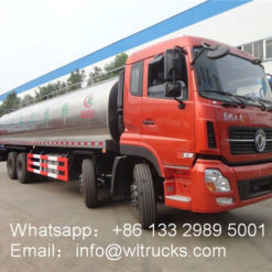 30 ton milk tank truck