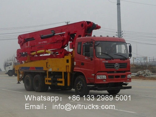 35m cement pump truck