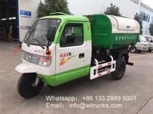 3m3 garbage truck