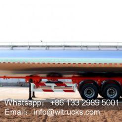 45000 liter Milk Tank Trailer