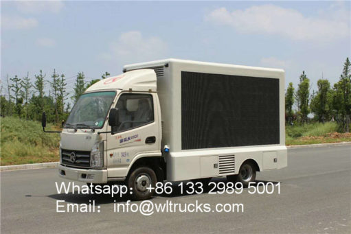 4WD led display truck