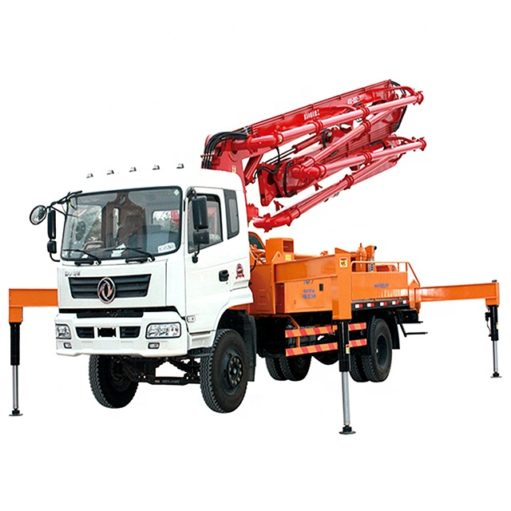 4x2 Dongfeng 26m 31m small mobile concrete boom pump truck