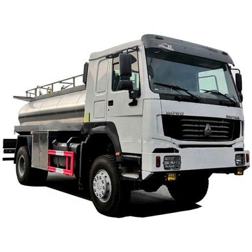 4x4 Sinotruk Howo 8 ton to 15 ton Fresh Farm Milk Transport Truck