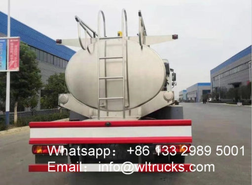 4x4 Sinotruk Howo Milk Transport Truck