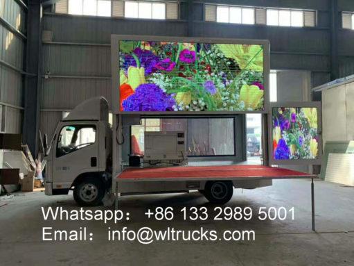 4x4 led display truck