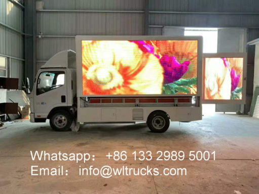4x4 led video truck